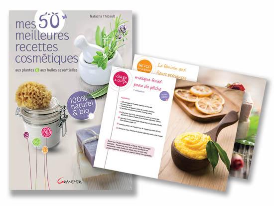 livre de Natacha Thibault pour faire ses cosmétiques naturels à la maison