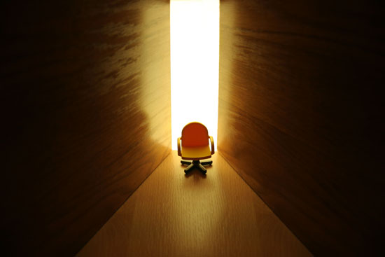 remplacer les idées noires par des pensées positives pour accéder à la lumière