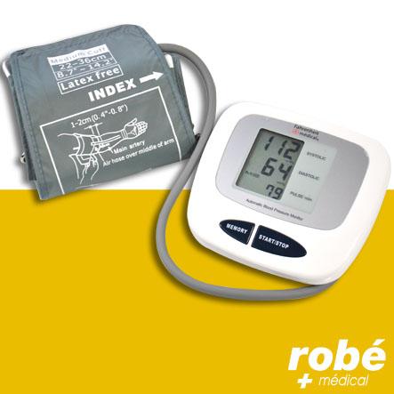 un tensiomètre est l'outil idél pour surveiller l' hypertension à la maison