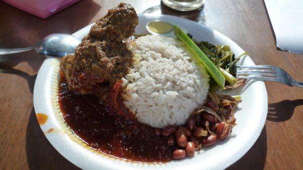 Ce petit dejeuner pris en Malaisie est bien différent mais plus sain que celui que nous prenons en France.