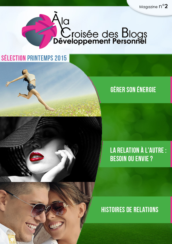 Couverture du magazine developpement personnel