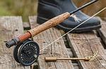 préparer son matériel de pêche à la truite pour se préparer à vivre pleinement l'instant présent