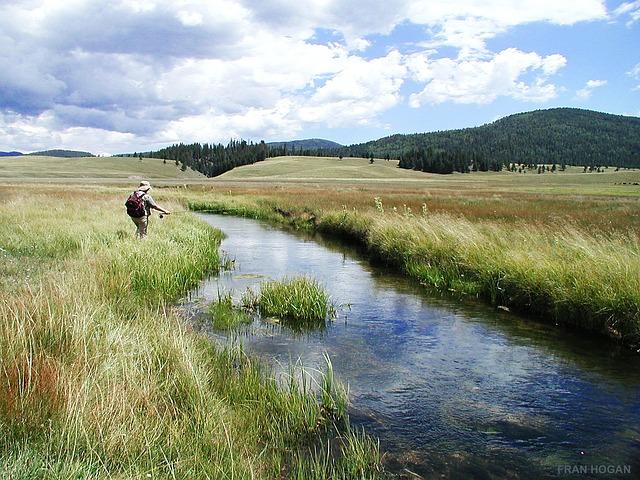 photo de pêche, communion à la nature et à l'instant présent