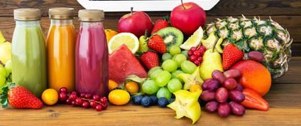 Les jus de légumes crus sont une composante essentielle du régime cru.