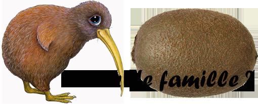 Oiseau ou fruit, un air de famille.