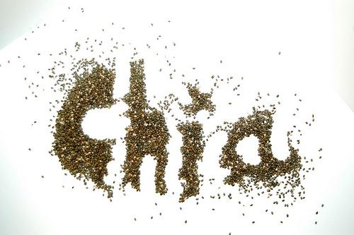 les graines de chia sont des épaississants