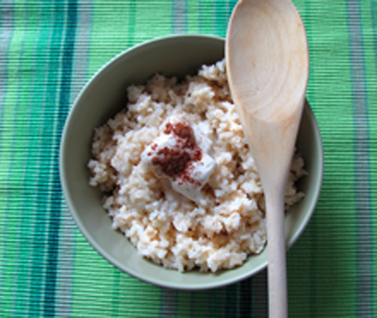 Le riz est l'une des très rares céréales sans gluten.