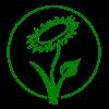 un logo bien connu de ceux qui veulent devenir vegan.
