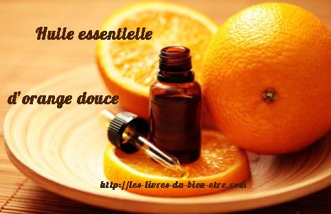 L' orange douce est une des huiles essentielles actives contre l'anxiété.