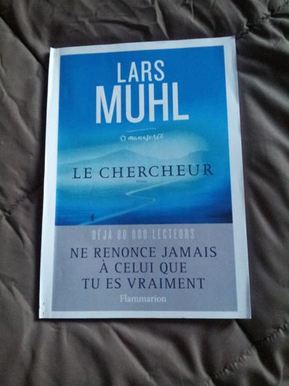 """Couverture du livre """"Le chercheur"""" de Lars Muhl"""