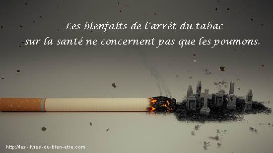 Les bienfaits de l'arrêt du tabac sur la santé et la survie.