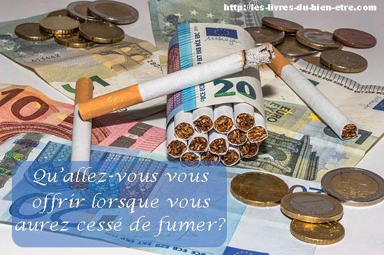 Les bienfaits de l'arrêt du tabac sur les finances.