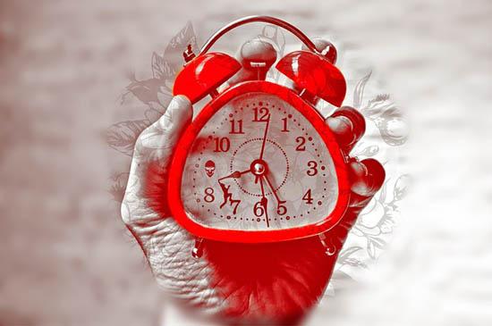 Grâce au réveil, l'avenir appartient à ceux qui se lèvent tôt.