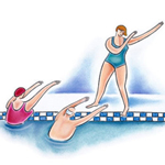 Sports aquatiques, le bien-être est dans l'eau.
